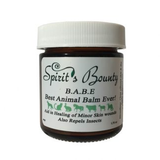 B.A.B.E- Best Animal Balm Ever!